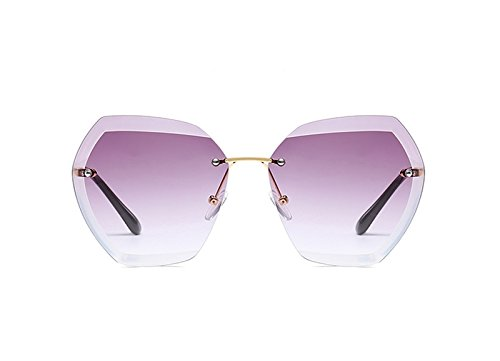 Sol de Gafas Metálicas de Libre Manera la Sol Marco de Sin la Aire Gafas Ruikey Gafas 5 al Señora Sol de de xYtwfgE
