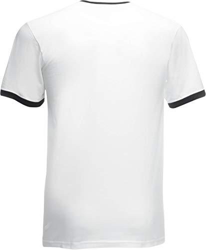 Loom Hombre Camiseta Mehrfarbig The Fruit Bianco Ss040m nero Para Of YIUZPqcwqE