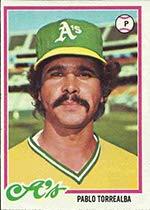 Amazoncom 1978 Topps Regular Baseball Card78 Pablo