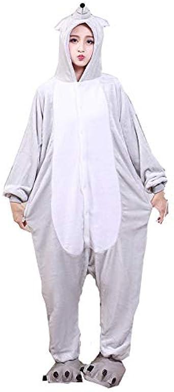 Soft ratón Adulto Animales Pijamas Hombres Unisex Ratones ...
