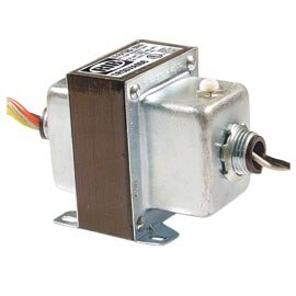 Functional Devices TR50VA008 Transformer, 50Va, 480/277/240/208 to 120 Vac, Circuit Breaker, Foot and Dual Threaded Hub Mount ()