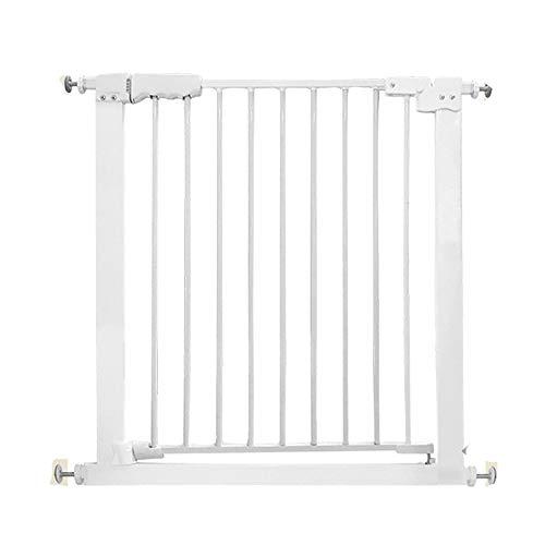 MAHZONG Puerta de seguridad para niños, barandilla para bebés, barandilla, cerca para mascotas, barandilla para puertas,...