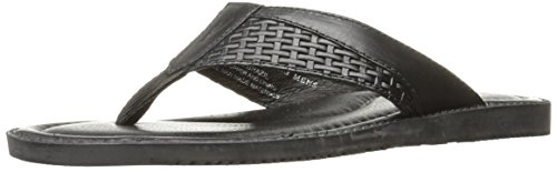 Tommy Bahama Men's Anchors Ashore Dress Sandal - Black - ...