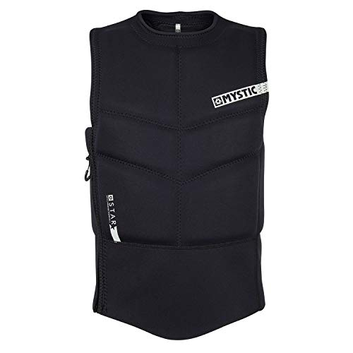 Mystic 2018 Star Side Zip Kite Impact Vest Black 180088 Sizes- - ()
