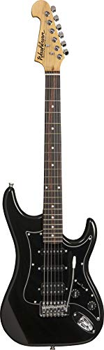 Other 6 String Solid-Body Electric Guitar, Right, Metallic Black (S2HMB-A)