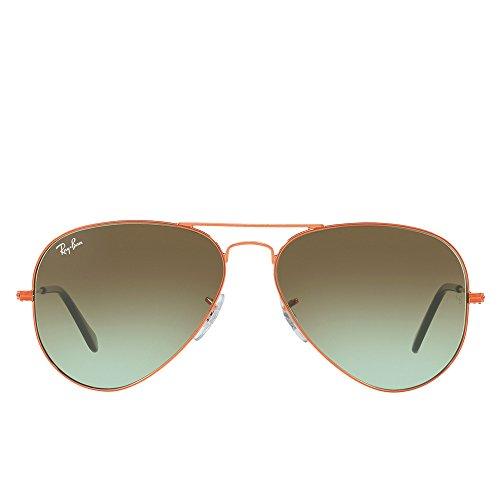 Ray-Ban Men's Aviator Sunglasses, Bronze/Green, One - Glasses Size Ban Ray