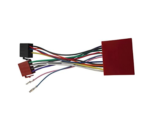 DKMUS for ISO Wiring Harness Adaptor for Mazda 2001+ Stereo Wire Cable Aftermarket Radio Plug Adapter Connector Connecter (Iso Stereo)