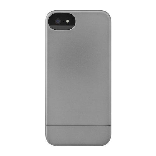Incase CL69041 Metallic Slider Case for iPhone 5 - Retail Packaging - Steel