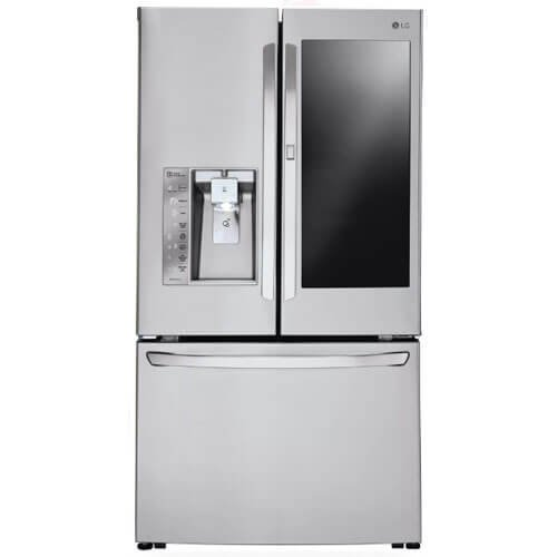 LG LFXC24796S 36 Inch Counter Depth French Door Refrigerator -...