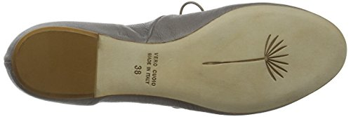 Zinco LiliMill Charrua Flats Grey Women's Closed Zin Toe Ballet TCq7Txw