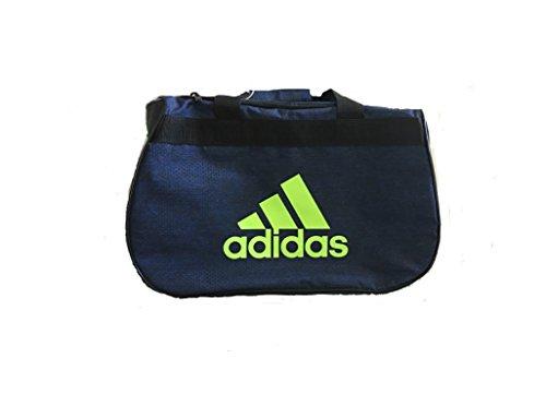 Adidas Collegiate Duffel - adidas Diablo Small II Hex Print (Collegiate Royal Jersey/Black)