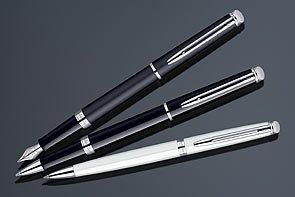 Waterman Hemisphere Black CT (Chrome Trim) Fountain Pen Fine - 1782293 ()