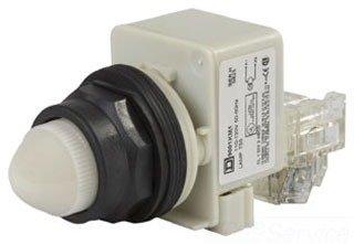 UPC 785901546443, SCHNEIDER ELECTRIC 9001SKT38LWW31 Pilot Light 120-Volt 30-mm Sk Plus Options Electrical Box