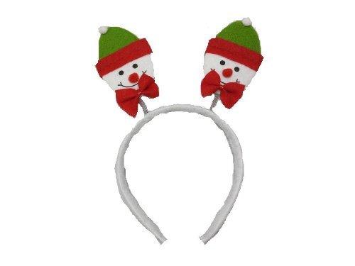 Christmas House Springy Snowman Christmas Headband 9 In. - 1/pkg.]()