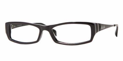 Ray Ban Optical Womens Rx5136 Dark Grey Frame Plastic Eyeglasses, 51mm