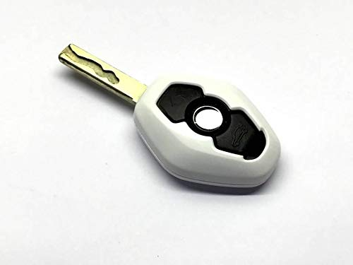 TX Racing Remote Key Cover for BMW Diamond Remote Key Gloss White