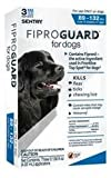 Dog Supplies Sentry Fiproguard Squeeze – On Dogs 89 – 132 Lbs 3Pk, My Pet Supplies