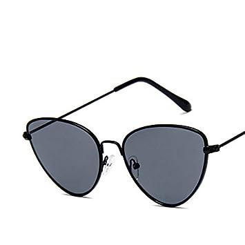 AAMOUSE Gafas de Sol Gafas de Sol Retro Mujer Cara pequeña ...