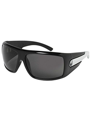 Dragon Shield Sunglasses Jet White/Grey ()