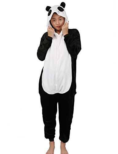 grande vendita 13908 da584 Pigiama Animali Intero Costume di Carnevale Halloween Cosplay Costumi Tuta  Unisex Flanella con Cerniera Indietro