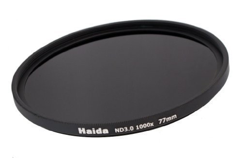 Neutral Graufilter ND1000 77mm inkl. Pro Lens Cap mit Innengriff