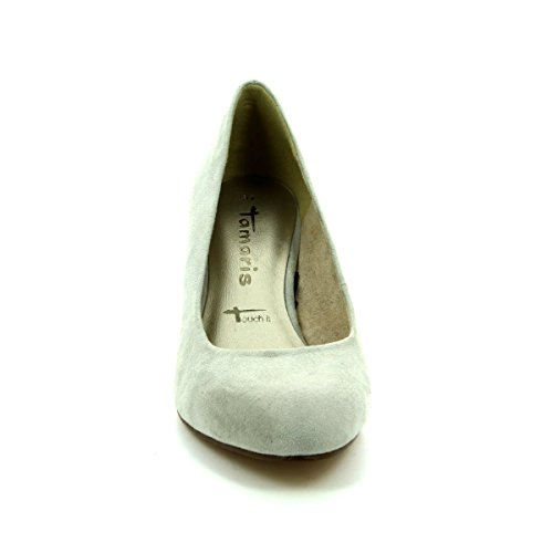 Tamaris 22454-227 CAXIA Light Grey Womens High-Heeled Shoes 227cloud kqnTHZl