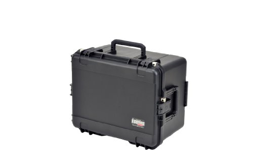 SKB 3I-2217-12BC Mil-Std Waterproof Case with Wheels and Cubed Foam by SKB