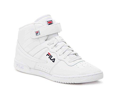 Fila F-13 Sneakers Sintetiche Punta Rotonda Donna Bianco / Fila Navy / Rosso Fila