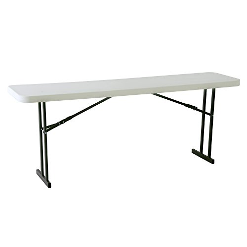 (Lifetime 80177 Folding Conference Training Table, 8 Feet, White Granite)