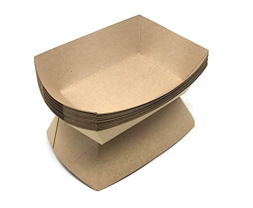 (Mr. Miracle Paperboard Food Tray. 2.5-Pound Size. Pack of 100)