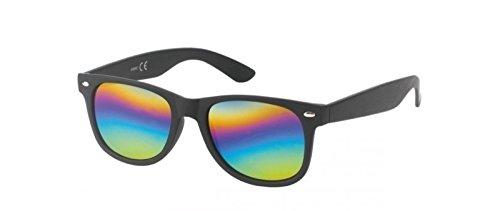 Espejo verspiegelt Gafas él para M1 Moderno nbsp;Sung UV400 Herren de Efecto schwarz Kost lases bunt y para nbsp;Cat 3 sol ella ZRpwqx