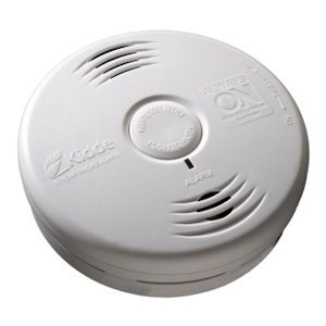 Kidde 10069 - Worry-Free Hallway Power Smoke Alarm with Sealed Lithium Battery (21010069 P3010H) by Kidde