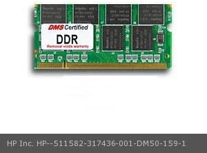 317436-001 Presario 2574AG 512MB DMS Certified Memory 200 Pin DDR PC2100 266MHz 64x64 CL 2.5 SODIMM 16 Chip DMS Data Memory Systems Replacement for HP Inc DMS