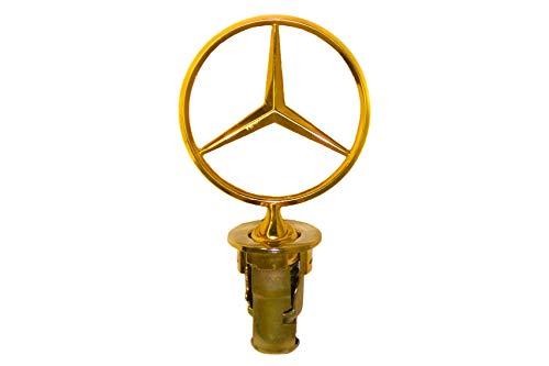 1977-1995 Mercedes Benz W123 W124 W126 W201 Gold Hood Star