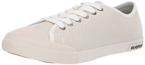 SeaVees Women's Women's Army Issue Low Shoe, White, 11 M US ()