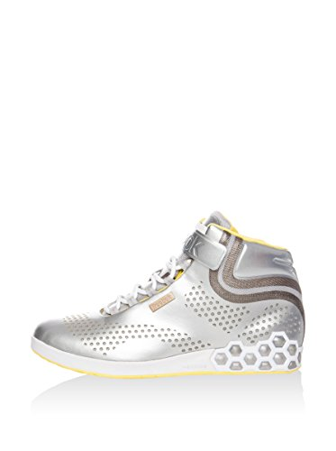Reebok Zapatillas abotinadas Smoothfit All Out Plata / Amarillo EU 40 (US 9)