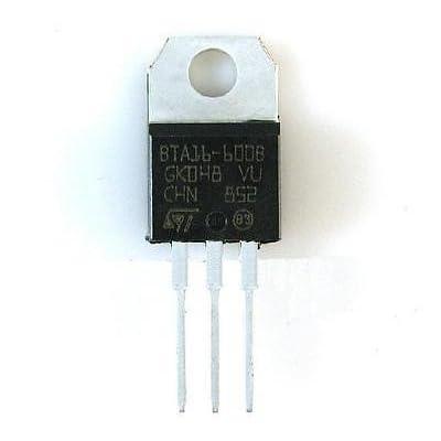 10pcs Bta16–600B 16A Triac 600V boîtier To-220NEUF de bonne qualité