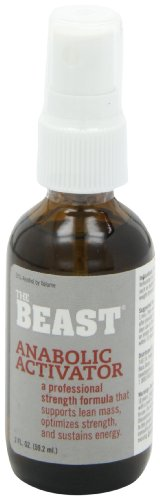 Immediate results of the supplement. UltraLab The Beast Anabolic Activator, Oral Spray Formula, 2 Ounces