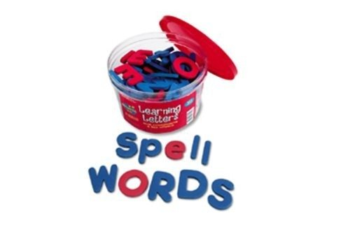 Learning Resources Foam Magnetic (Magnetic Foam Letters - Upper & Lowercase; 104 Piece Set; no. LER6304)