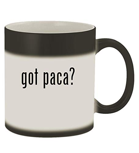 got paca? - 11oz Magic Color Changing Mug, Matte Black for sale  Delivered anywhere in USA