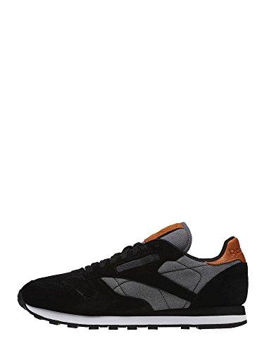 Reebok , Herren Sneaker, schwarz - schwarz - Größe: 45½