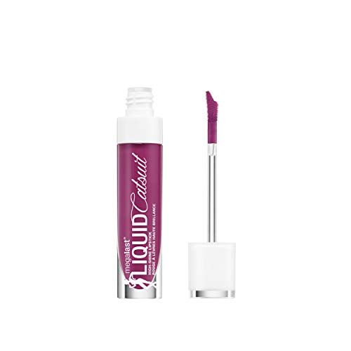 - wet n wild Megalast Liquid Catsuit High Shine Lipstick, Berry Down Lo, 0.2 Ounce