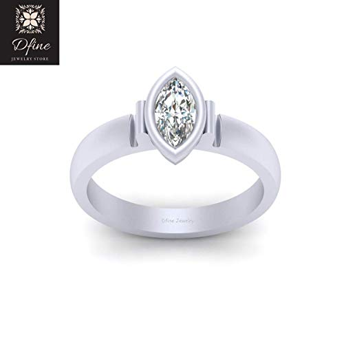0.45 Ct Marquise Diamond - 4