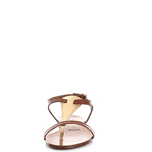Fiori Campo Sandals Gold 56 De 150 Leather Women 6648r