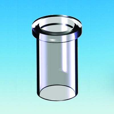 ACE Glass 15300-47 Heavy Walled Flange for Large Scale Rotary Evaporator Condenser, 114mm Size