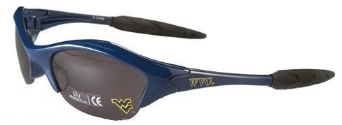 (West Virginia Mountaineers Licensed NCAA Team Logo Sunglasses Blade Half Sport)