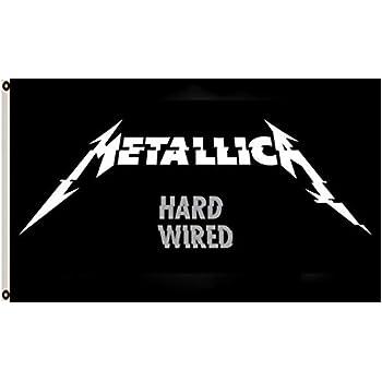 Amazon.com: Astany Metallica Ninja Star 3X5FT Bandera ...