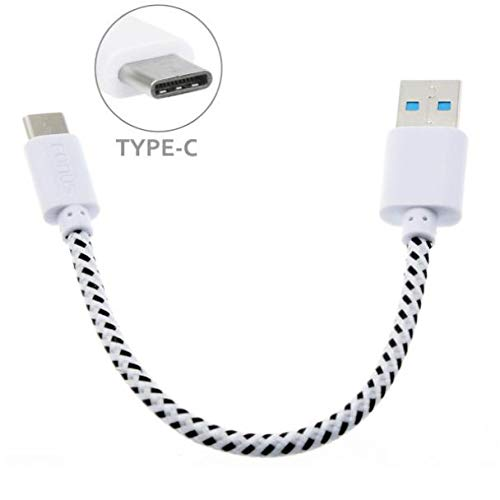Short Type-C Cable Braided Rapid Charger Sync USB Power Wire