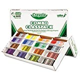 Classpack Crayons W/markers, 8 Colors, 128 Each Crayons/markers, 256/box By: Crayola