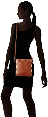 Loxwood Pochette Floppy Cuir Cloute - bolso de mano Mujer Marrón (Sahara)